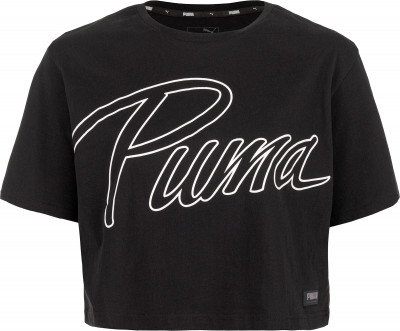 Футболка женская Puma Athletics Fashion Tee, размер 46-48