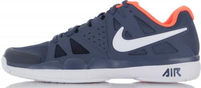 Кроссовки мужские Nike Air Vapor AdvantageМужские теннисные кроссовки nike air vapor advantage позволяют двигаться на корте максимально быстро.<br>Пол: Мужской; Возраст: Взрослые; Вид спорта: Теннис; Способ застегивания: Шнуровка; Материал верха: 44 % кожа, 40 % синтетическая кожа, 16 % текстиль; Материал подкладки: 100 % текстиль; Материал подошвы: 80 % резина, 20 % пластик; Производитель: Nike; Артикул производителя: 599359-403; Страна производства: Китай; Размер RU: 41;