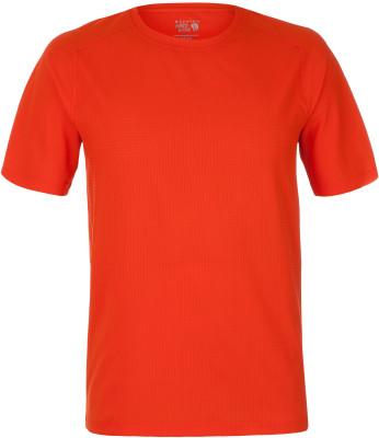 Футболка мужская Mountain Hardwear ACЛегкая мужская футболка из перфорированной ткани предназначена для горного туризма. Отведение влаги технология wick. Q обеспечивает быстрое отведение влаги.<br>Пол: Мужской; Возраст: Взрослые; Вид спорта: Горный туризм; Защита от УФ: Есть; Материалы: 100 % полиэстер; Технологии: Wick.Q; Производитель: Mountain Hardwear; Артикул производителя: 1725451842M; Страна производства: Китай; Размер RU: 50;