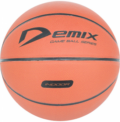 Мяч баскетбольный DemixБаскетбольный мяч для любительских соревнований. Модель рассчитана на игру в зале.<br>Сезон: 2017/2018; Возраст: Взрослые; Вид спорта: Баскетбол; Тип поверхности: Для зала; Назначение: Профессиональные; Материал покрышки: Синтетическая кожа; Материал камеры: Бутил; Способ соединения панелей: Клееный; Количество панелей: 8; Вес, кг: 0,567-0,650; Производитель: Demix; Артикул производителя: BLCL-10007; Срок гарантии: 6 месяцев; Страна производства: Китай; Размер RU: 7;