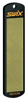 Средний алмазный камень SwixАлмазный материал на алюминиевой основе. Идеально шлифует поверхность канта, удаляет заусенцы.<br>Состав: Алмазный материал приклеен к алюминиевой основе; Вид спорта: Горные лыжи; Производитель: Swix Sport AS; Артикул производителя: TA400E; Страна производства: Италия; Размер RU: Без размера;