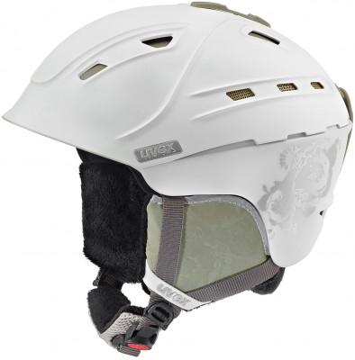 Шлем женский Uvex P2usШлемы<br>Шлем uvex p2us для максимально комфортного катания. Защита конструкция hybrid делает шлем одновременно легким и прочным.