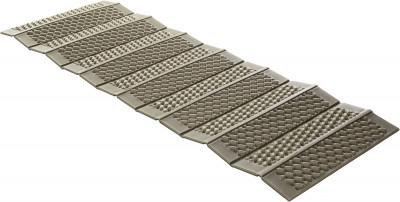 Коврик OutventureСкладной коврик-гармошка размером 180х62 см пригодится в походах и во время отдыха на природе. Легкость коврик весит всего 300 гр.<br>Вес, кг: 0,3; Размеры (дл х шир х выс), см: 180 х 62 х 1; Размер в сложенном виде (дл. х шир. х выс), см: 62 х 12 х 14; Материал верха: 100 % вспененный полиэтилен; Наличие чехла: Нет; Вид спорта: Кемпинг, Походы; Производитель: Outventure; Артикул производителя: EOUOM006G0; Срок гарантии: 6 месяцев; Страна производства: Россия; Размер RU: Без размера;