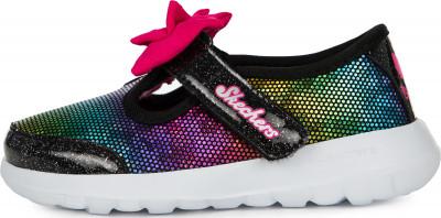 Кроссовки для девочек Skechers Go Walk Joy-Lil Darling, размер 19,5