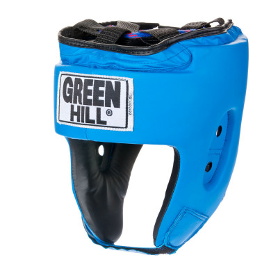 Шлем Green Hill SpecialУниверсальная защита для тренировок по боксу, мма, самбо. Шлем изготовлен из искусственной кожи. Двойная система крепления.<br>Состав: кож. зам.; Вид спорта: Бокс, ММА, Самбо; Производитель: Green Hill; Артикул производителя: HGS-4025; Размер RU: M;