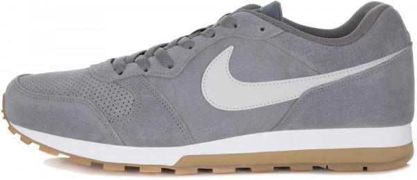 6749de91 Кроссовки мужские Nike MD Runner 2 серый цвет — купить за 4999 руб. в  интернет-магазине Спортмастер