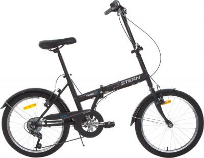 Stern Travel 20 (2018)Компактный 6-скоростной велосипед с небольшими 20-дюймовыми колесами подойдет для комфортного катания в городе. Модель рассчитана как на взрослого, так и на подростка.<br>Материал рамы: Сталь; Амортизация: Rigid; Конструкция рулевой колонки: Неинтегрированная; Складная конструкция: Да; Размер в сложенном виде (дл. х шир. х выс), см: 100 х 30 х 75; Конструкция вилки: Жесткая; Материал педалей: Пластик; Система: Golden Swallow; Количество скоростей: 6; Наименование заднего переключателя: Power RD-25; Конструкция педалей: Классические; Наименование манеток: Power RD-25; Конструкция манеток: Вращающиеся ручки; Тип переднего тормоза: Ободной; Тип заднего тормоза: Ободной; Материал втулок: Сталь; Диаметр колеса: 20; Тип обода: Одинарный; Материал обода: Алюминий; Наименование покрышек: Chaoyang H-460, 20 x 1,75; Материал руля: Сталь; Название шифтера: Power RD-25; Конструкция руля: Изогнутый; Регулировка руля: Да; Регулировка седла: Да; Амортизационный подседельный штырь: Нет; Сезон: 2018; Максимальный вес пользователя: 100 кг; Вид спорта: Велоспорт; Технологии: Hi-ten steel; Производитель: Stern; Артикул производителя: 18TRA20M; Срок гарантии: 2 года; Вес, кг: 15; Страна производства: Китай; Размер RU: 155-190;