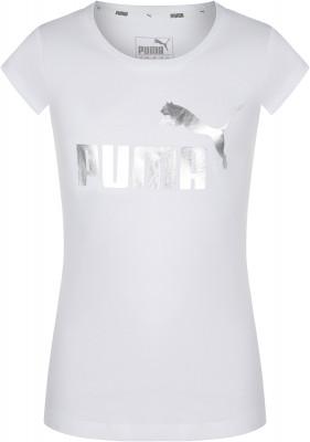 Купить со скидкой Футболка для девочек Puma Girls Glitter Tee, размер 140