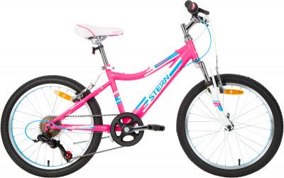 Leeloo 20 (2019), размер 120-140Велосипеды<br>Горный велосипед leeloo 20 с переключателями shimano разработан специально для девочек 6-9 лет.