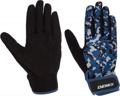 Перчатки для фитнеса Demix, размер LПерчатки атлетические<br>Перчатки для функционального треннинга. Комфортный эластичный материал с универсальной конструкцией обеспечивает защиту ладоней во время активных занятий спортом.