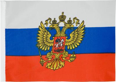 Флаг малый на держателе BRO RUSSIAN 10 х 15 смСпортивная атрибутика<br>Миниатюрный флаг для велосипедов от bro russian. Выполнен из полиэстера, пластиковый держатель с болтами входят в комплект. Размер 10 х 15 см.