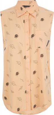 Рубашка без рукавов женская Outventure, размер 52Рубашки<br>Рубашка без рукавов от outventure - идеальный вариант для летних путешествий. Свобода движений продуманный крой не сковывает движения.