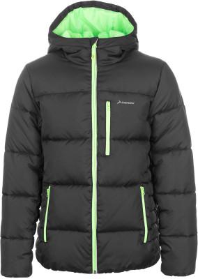 Куртка утепленная для мальчиков DemixУтепленная куртка для мальчиков от demix подойдет для тренинга на свежем воздухе даже в холодные дни.<br>Пол: Мужской; Возраст: Дети; Вид спорта: Тренинг; Вес утеплителя на м2: 160 г/м2; Наличие чехла: Нет; Возможность упаковки в карман: Нет; Защита от ветра: Нет; Покрой: Зауженный; Светоотражающие элементы: Да; Дополнительная вентиляция: Нет; Проклеенные швы: Нет; Длина куртки: Короткая; Наличие карманов: Да; Капюшон: Не отстегивается; Количество карманов: 3; Артикулируемые локти: Нет; Застежка: Молния; Технологии: MOVI-warm; Производитель: Demix; Артикул производителя: EJAB029914; Страна производства: Китай; Материал верха: 100 % полиэстер; Материал подкладки: 100 % полиэстер; Материал утеплителя: 100 % полиэстер; Размер RU: 146;