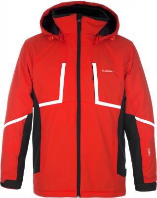 Куртка утепленная мужская GlissadeУдобная куртка glissade разработана для катания на горных лыжах. Водонепроницаемая мембрана мембрана isodry обеспечивает защиту от влаги и оптимальный микроклимат.<br>Пол: Мужской; Возраст: Взрослые; Вид спорта: Горные лыжи; Вес утеплителя на м2: 100 г/м2; Наличие мембраны: Да; Регулируемые манжеты: Да; Водонепроницаемость: 3000 мм; Паропроницаемость: 3000 г/м2/24 ч; Защита от ветра: Да; Покрой: Прямой; Дополнительная вентиляция: Да; Проклеенные швы: Нет; Длина куртки: Средняя; Датчик спасательной системы: Нет; Наличие карманов: Да; Капюшон: Отстегивается; Мех: Отсутствует; Снегозащитная юбка: Да; Количество карманов: 6; Карман для маски: Нет; Карман для Ski-pass: Да; Водонепроницаемые молнии: Нет; Артикулируемые локти: Нет; Совместимость со шлемом: Нет; Технологии: IsoDry, Isoloft; Производитель: Glissade; Артикул производителя: SJAM08HB48; Страна производства: Китай; Материал верха: 100 % нейлон; Материал подкладки: 100 % полиэстер; Материал утеплителя: 100 % полиэстер; Размер RU: 48-50;