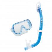 Комплект детский Tusa Mini Kleio Dry: маска, трубка