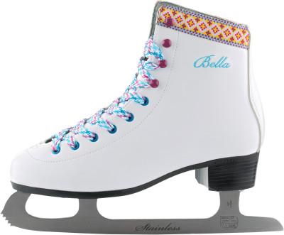 Nordway Bella (2016, взрослые)Модель bella - это оптимальный вариант для начинающих фигуристок.<br>Вес, кг: 1,5; Материал ботинка: Искусственная кожа; Материал подкладки: Синтетическая ткань Cambrella; Материал лезвия: Нержавеющая сталь; Широкая колодка: Нет; Тип фиксации: Шнурки; Защитное напыление лезвия: Да; Материал подошвы: Пластик; Заводская заточка: Да; Сезон: 2017; Пол: Женский; Возраст: Взрослые; Вид спорта: Фигурное катание; Уровень подготовки: Начинающий; Технологии: Solid Blade, Woman Fit; Производитель: Nordway; Артикул производителя: FS17-00-42; Срок гарантии: 2 года; Страна производства: Китай; Размер RU: 43;