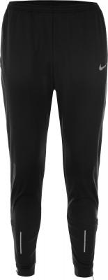 Брюки мужские Nike Thermal EssentialМужские брюки nike thermal essential из технологичной ткани оптимально подходят для пробежек в холодные дни.<br>Пол: Мужской; Возраст: Взрослые; Вид спорта: Бег; Силуэт брюк: Зауженный; Светоотражающие элементы: Да; Наличие карманов: Да; Количество карманов: 3; Технологии: Nike Dri-FIT; Производитель: Nike; Артикул производителя: 858138-010; Материал верха: 89 % полиэстер, 11 % эластан; Размер RU: 44-46;
