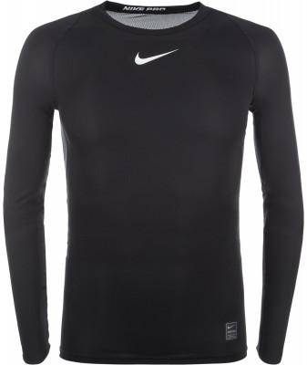 Футболка с длинным рукавом мужская Nike ProМужская футболка nike pro гарантирует комфорт и прохладу во время тренировок.<br>Пол: Мужской; Возраст: Взрослые; Вид спорта: Тренинг; Покрой: Зауженный; Плоские швы: Да; Дополнительная вентиляция: Да; Технологии: Nike Dri-FIT; Производитель: Nike; Артикул производителя: 838077-010; Страна производства: Шри-Ланка; Материалы: 92 % полиэстер, 8 % эластан; Размер RU: 44-46;