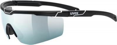 Солнцезащитные очки Uvex Sportstyle 117Спортивные очки uvex со сменными линзами для защиты от солнца и занятий спортом. Защита от ультрафиолета 100% защита от вредного уф-излучения.<br>Возраст: Взрослые; Пол: Мужской; Цвет линз: Серебристый; Цвет оправы: Черный матовый, белый; Назначение: Бег, велоспорт; Вид спорта: Бег, Велоспорт; Ультрафиолетовый фильтр: Да; Поляризационный фильтр: Нет; Зеркальное напыление: Да; Категория фильтра: 03.01.2018; Материал линз: Поликарбонат; Оправа: Пластик; Технологии: LITEMIRROR; Производитель: Uvex; Артикул производителя: S5319792816; Срок гарантии: 1 месяц; Страна производства: Тайвань; Размер RU: Без размера;