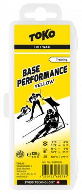 Мазь скольжения TOKO Base Performance Yellow Hot Wax Training