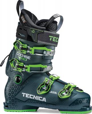 Ботинки горнолыжные Tecnica Cochise 110, размер 40,5Ботинки<br>Ботинки tecnica для прогрессирующих фрирайдеров с жесткостью 110, узкой колодкой 99 мм и полностью формуемым лайнером c. A. S. Ultrafit.