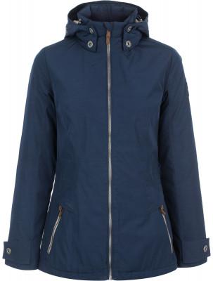 Куртка утепленная женская OutventureУтепленная куртка прямого кроя предназначена для путешествий и активного отдыха. Сохранение тепла вес утеплителя в изделии составляет 40 г м2.<br>Пол: Женский; Возраст: Взрослые; Вид спорта: Путешествие; Вес утеплителя: 40 г/м2; Температурный режим: До +10; Покрой: Прямой; Длина куртки: Средняя; Капюшон: Отстегивается; Количество карманов: 2; Материал верха: 73 % полиэстер, 15 % хлопок, 12 % нейлон; Материал подкладки: 100 % полиэстер; Материал утеплителя: 100 % полиэстер; Производитель: Outventure; Артикул производителя: S17AO9Z454; Страна производства: Китай; Размер RU: 54;