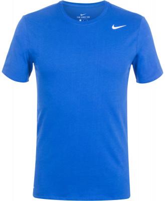 Футболка мужская Nike Dri-FIT CottonКлассическая футболка для тренинга nike dri-fit cotton. Отведение влаги ткань с технологией nike dri-fit для превосходного влагоотвода.<br>Пол: Мужской; Возраст: Взрослые; Вид спорта: Тренинг; Технологии: Nike Dri-FIT; Производитель: Nike; Артикул производителя: 706625-480; Страна производства: Малайзия; Материалы: 60 % хлопок, 40 % полиэстер; Размер RU: 52-54;