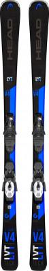 Горные лыжи + крепления Head V-SHAPE V4 + PR 11 GW