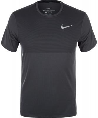 Футболка мужская Nike Zonal Cooling RelayМужская футболка с коротким рукавом отлично подойдет для беговых тренировок.<br>Пол: Мужской; Возраст: Взрослые; Вид спорта: Бег; Светоотражающие элементы: Есть; Производитель: Nike; Артикул производителя: 833580-060; Материалы: 100 % полиэстер; Размер RU: 46-48;
