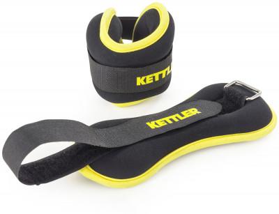 Утяжелители, Kettler 2 х 0,5 кгУтяжелители являются прекрасным дополнением во время бега и других видов физических упражнений, обеспечивая большую нагрузку и, тем самым, повышая ээфективность тренировок.<br>Вес, кг: 2 x 0,5; Состав: бутадиен-нитрильный каучук, трикотаж, лайкра, сталь, железная стружка; Вид спорта: Фитнес; Производитель: Kettler; Артикул производителя: 7373-250; Срок гарантии: 2 года; Страна производства: Китай; Размер RU: Без размера;