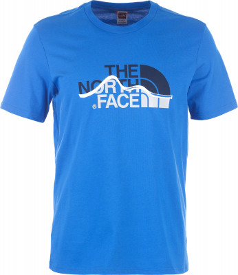 Футболка мужская The North Face Mountain Line, размер 48Футболки<br>Практичная мужская футболка от the north face для походов и активного отдыха на природе.