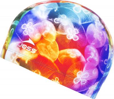Шапочка для плавания JossТехнологичная и яркая шапочка для плавания в бассейне joss. Специальные волокна creora highclo делают модель долговечной и устойчивой к хлору.<br>Пол: Мужской; Возраст: Взрослые; Вид спорта: Плавание; Назначение: Универсальные; Технологии: creora highclo; Производитель: Joss; Артикул производителя: MHC01A7L1; Страна производства: Китай; Материалы: 80 % полиамид, 20 % эластан; Размер RU: Без размера;
