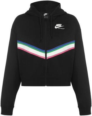 Толстовка женская Nike Sportswear Heritage, размер 46-48 фото