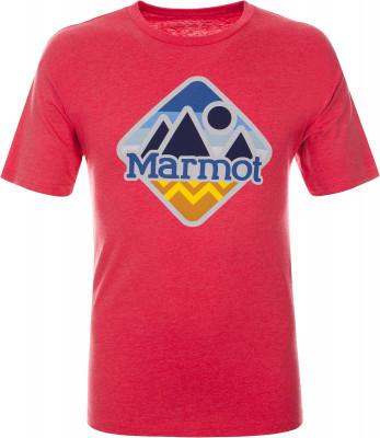 Футболка мужская Marmot, размер 50-52Футболки<br>Футболка sweeney ridge tee ss, выполненная из экологичных материалов, прекрасно подойдет для походов и активного отдыха на природе.