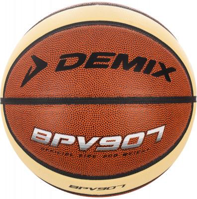 Мяч баскетбольный DemixБаскетбольный мяч для тренировок и игры в зале и на улице. Выполнен из износостойкой синтетической кожи (поливинилхлорид).<br>Сезон: 2017; Возраст: Взрослые; Вид спорта: Баскетбол; Тип поверхности: Для зала; Назначение: Тренировочные; Материал покрышки: Синтетическая кожа; Материал камеры: Резина; Способ соединения панелей: Клееный; Количество панелей: 9; Вес, кг: 0,567-0,650; Производитель: Demix; Артикул производителя: BLPVC0009D; Срок гарантии: 6 месяцев; Страна производства: Китай; Размер RU: 7;
