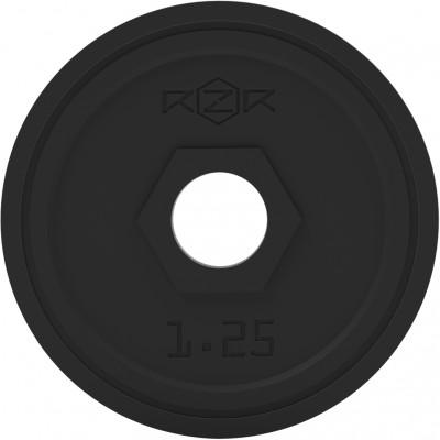 Блин стальной обрезиненный, 1,25 кг RZR-R12