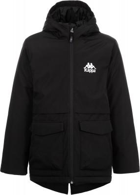Куртка утепленная для мальчиков Kappa, размер 140Куртки <br>Удобная утепленная куртка kappa для юных любителей спортивного стиля. Сохранение тепла в модели использован современный синтетический утеплитель весом 220 г м2.