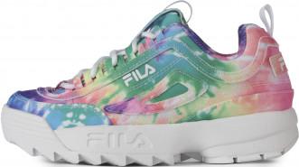 Кроссовки для девочек FILA Disruptor II Tie Dye