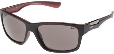 Солнцезащитные очки LetoЛегкие и удобные солнцезащитные очки leto с полимерными линзами в пластмассовой оправе.<br>Возраст: Взрослые; Пол: Мужской; Цвет линз: Серый; Цвет оправы: Черный, красный; Назначение: Спортивный стиль; Ультрафиолетовый фильтр: Да; Поляризационный фильтр: Нет; Зеркальное напыление: Нет; Категория фильтра: 3; Материал линз: Полимер; Оправа: Пластик; Вид спорта: Спортивный стиль; Производитель: Leto; Артикул производителя: 701708A; Срок гарантии: 1 месяц; Страна производства: Китай; Размер RU: Без размера;