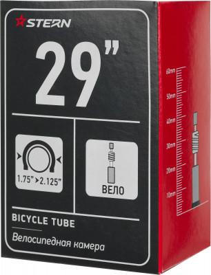 Камера Stern 29 велониппельЗапчасти<br>Велосипедная камера с велониппелем от stern особенности модели диаметр камеры составляет 29 дюймов.