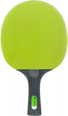 Ракетка для настольного тенниса Torneo CompetitionРакетки<br>Ракетка для игроков, имеющих навыки хорошего контроля. Для отработки вращения на высоких скоростях. Основание: 7-слойная фанера, толщина 5, 5 мм. Резина: ittf 815.