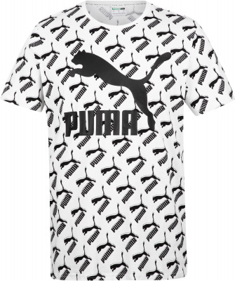 Футболка мужская Puma AOP Logo Tee, размер 50-52