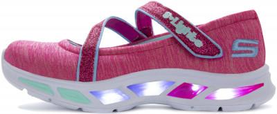 Кроссовки для девочек Skechers Litebeams-Spin, размер 28,5Кроссовки <br>Мягкая и удобная модель litebeams - spin n sparkle от skechers станет отличным завершением яркого образа.