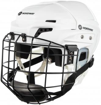 Шлем хоккейный детский с маской Nordway 3 JR WHT