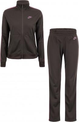 Костюм спортивный женский Nike Sportswear, размер 46-48Костюмы<br>Женский спортивный костюм nike sportswear для интересного образа. Комфорт трикотажная ткань с начесом приятна на ощупь.