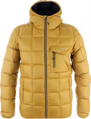 Куртка пуховая мужская MerrellУдобная мужская куртка для походов и активного отдыха на свежем воздухе от merrell.<br>Пол: Мужской; Возраст: Взрослые; Вид спорта: Походы; Вес утеплителя на м2: 228 г/м2; Наличие мембраны: Нет; Наличие чехла: Да; Возможность упаковки в карман: Да; Регулируемые манжеты: Нет; Защита от ветра: Нет; Температурный режим: До -10; Покрой: Прямой; Светоотражающие элементы: Да; Дополнительная вентиляция: Нет; Проклеенные швы: Нет; Длина куртки: Средняя; Наличие карманов: Да; Капюшон: Не отстегивается; Количество карманов: 3; Артикулируемые локти: Нет; Застежка: Молния; Производитель: Merrell; Артикул производителя: RJAM016252; Страна производства: Китай; Материал верха: 100 % полиэстер; Материал подкладки: 100 % полиэстер; Материал утеплителя: 90 % утиный пух серый, 10 % утиное перо серое; Размер RU: 52;