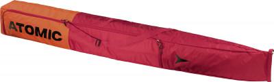 Чехол для горных лыж AtomicЧехол для двух пар горных лыж и палок. Длину чехла можно отрегулировать. Материал подкладки легко чистится.<br>Состав: Нейлон; Размеры (дл х шир х выс), см: 205 x 22 x 22; Вид спорта: Горные лыжи; Производитель: Atomic; Артикул производителя: AL5038610; Срок гарантии: 2 года; Страна производства: Вьетнам; Размер RU: Без размера;