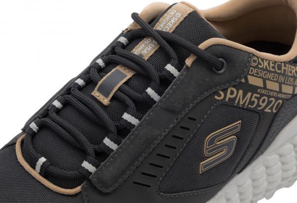 b6dc8187 Кроссовки мужские Skechers Monster черный цвет — купить за 5999 руб. в  интернет-магазине Спортмастер