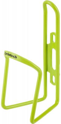 Флягодержатель CyclotechФлягодержатель для велосипеда. Особенности модели: материал: алюминий; надежная фиксация фляги; крепится на раму велосипеда.<br>Материалы: Алюминий; Вид спорта: Велоспорт; Производитель: Cyclotech; Артикул производителя: CBH-1GR.; Страна производства: Китай; Размер RU: Без размера;