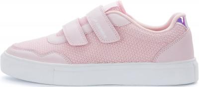 Кеды для девочек Demix Ked Tex, размер 31Кеды <br>Удобные и легкие детские кеды от demix - отличный выбор для прогулок в спортивном стиле. Надежная фиксация застежка-липучка для удобной и надежной фиксации обуви на ноге.